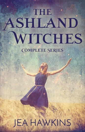 The Ashland Witches - Complete Series - paranormal lesbian romance by Jea Hawkins