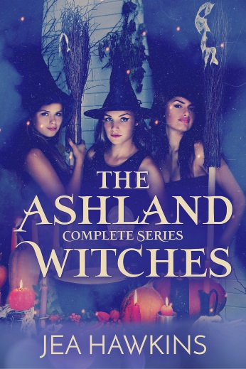 The Ashland Witches: Complete Series - lesbian paranormal romance by Jea Hawkins